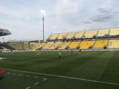Mapfre Stadium, section: 124, row: 4, seat: 7