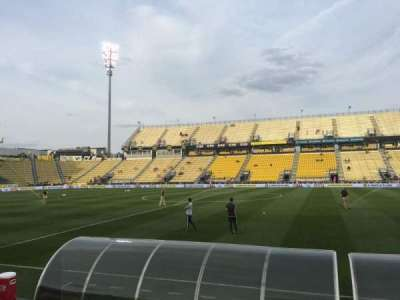 Mapfre Stadium, section: 125, row: 4, seat: 7