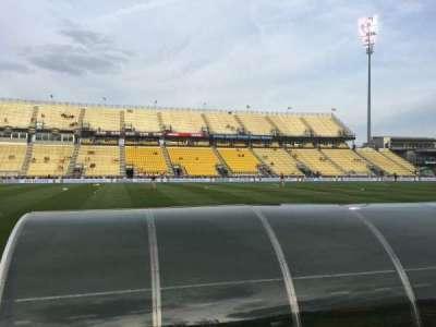 Mapfre Stadium, section: 128, row: 4, seat: 6