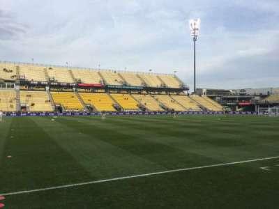 Mapfre Stadium, section: 129, row: 4, seat: 1
