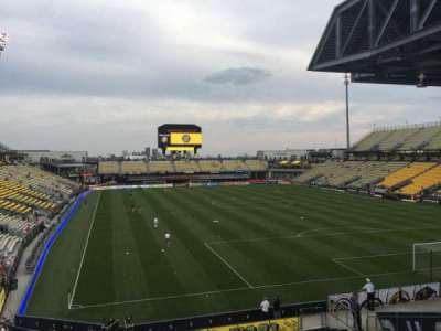 Mapfre Stadium, section: 140, row: 24, seat: 38