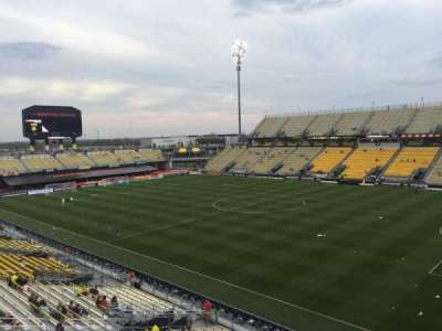 Mapfre Stadium, section: 202, row: 1, seat: 6