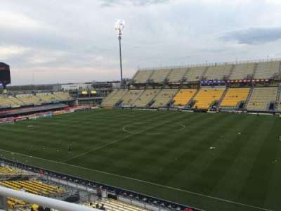 Mapfre Stadium, section: 203, row: 1, seat: 6