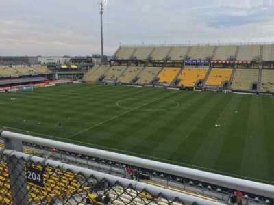 Mapfre Stadium, section: 204, row: 2, seat: 7