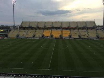 Mapfre Stadium, section: 206, row: 2, seat: 7