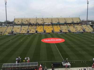 Mapfre Stadium, section: 226, row: 1, seat: 8
