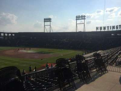 Huntington Park, section: 23, row: T, seat: 17