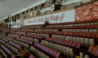 Joe Louis Arena, section: 212b, row: 18, seat: 11