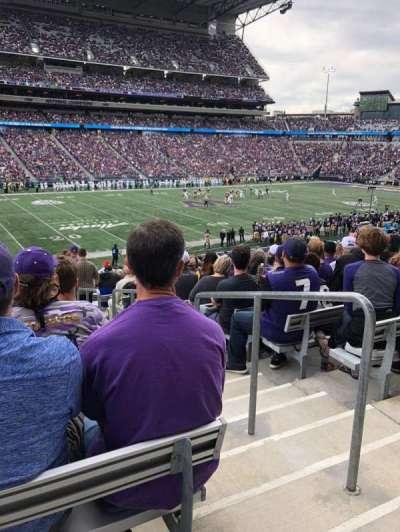 Husky Stadium, section: 132, row: 32, seat: 1