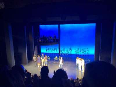Seat view reviews from Music Box Theatre