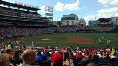 Nationals Park section 130