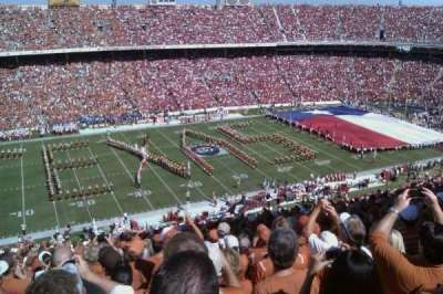 Cotton Bowl, section: 108, row: 32, seat: 21