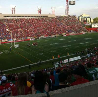 McMahon Stadium, section: J, row: 53, seat: 20