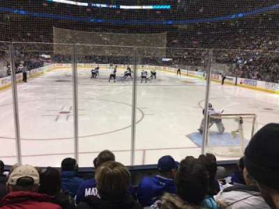 Air Canada Centre, section: 114, row: 10, seat: 9