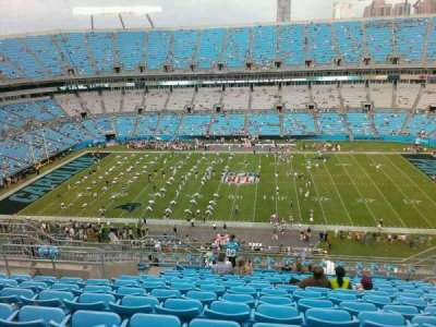 Bank of America Stadium, section: 541, row: 21, seat: 14