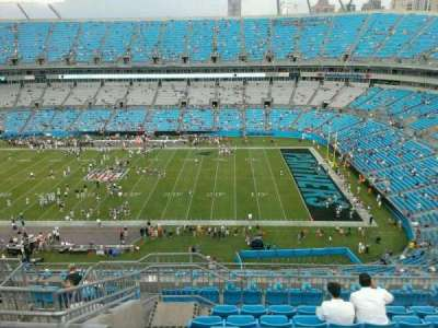 Bank of America Stadium, section: 540, row: 14, seat: 18