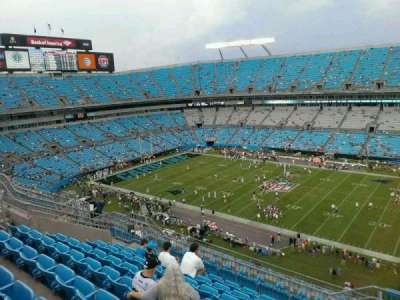 Bank of America Stadium, section: 539, row: 14, seat: 3