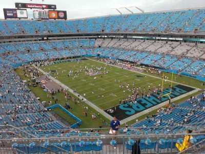 Bank of America Stadium section 533