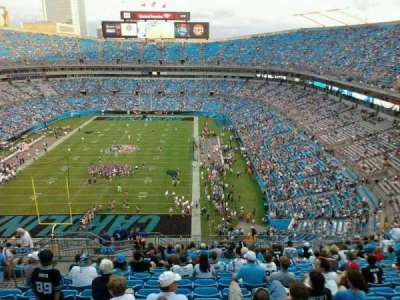 Bank of America Stadium section 554