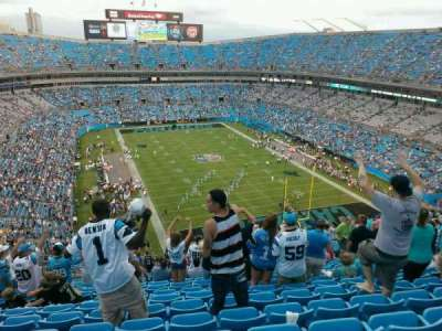 Bank of America Stadium section 504