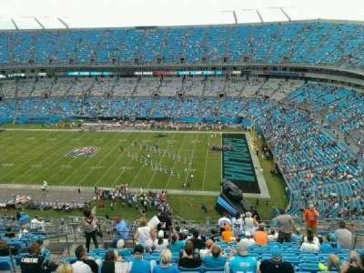 Bank of America Stadium, section: 511, row: 14, seat: 17