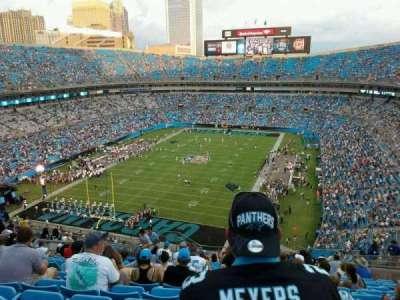 Bank of America Stadium, section: 553, row: 13, seat: 16