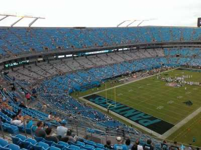 Bank of America Stadium, section: 525, row: 12, seat: 13
