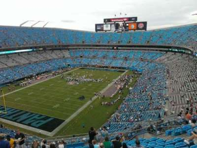 Bank of America Stadium section 523