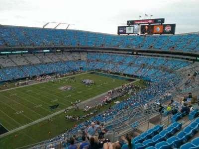 Bank of America Stadium, section: 520, row: 11, seat: 15
