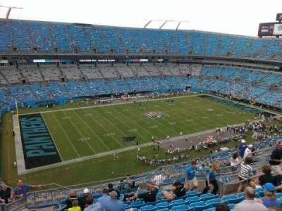 Bank of America Stadium, section: 519, row: 11, seat: 14
