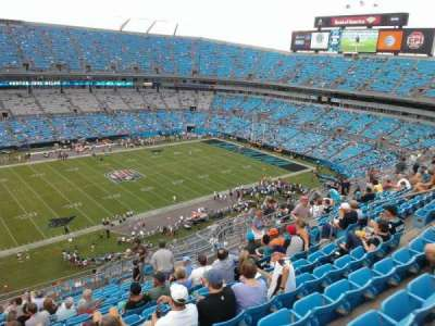 Bank of America Stadium, section: 518, row: 13, seat: 15