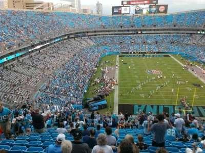Bank of America Stadium, section: 503, row: 21, seat: 12