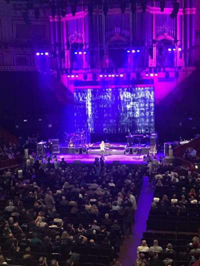 Royal Albert Hall, section: Grand Tier 25, seat: 2