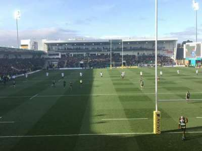 Franklin's Gardens, section: Elite Insurance Stsnd. Block 1, row: S, seat: 407