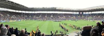Ricoh Arena section West Stand Block B
