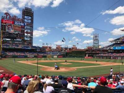 Citizens Bank Park, section: Diamond Club, row: 19, seat: 12