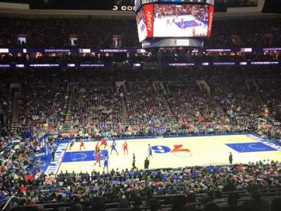 Wells Fargo Center, section: Club Box 24, row: 7, seat: 9