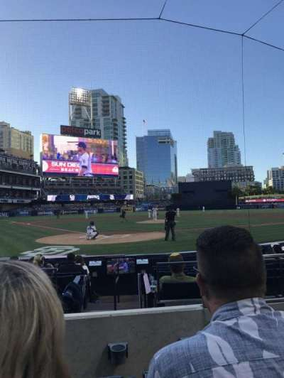 PETCO Park, section: FV101, row: 10, seat: 15