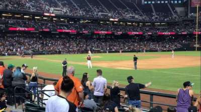 Chase Field, section: 113, row: 11, seat: 9