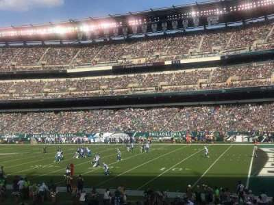 Lincoln Financial Field section 105
