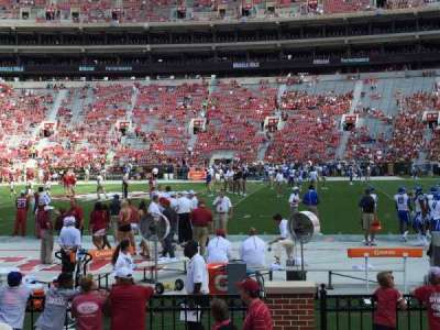 Bryant-Denny Stadium, section: M, row: 4, seat: 12