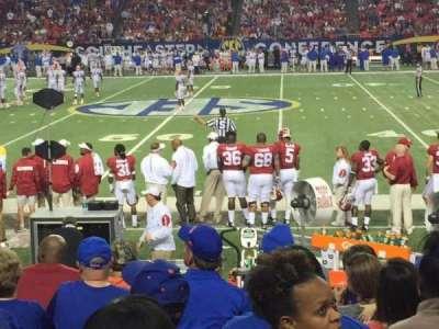 Georgia Dome, section: 135, row: 9, seat: 9