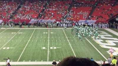 Georgia Dome, section: 132, row: 33, seat: 1