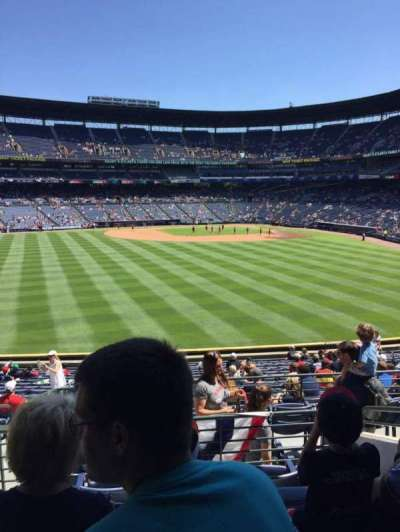 Turner Field, section: 244, row: 5, seat: 4