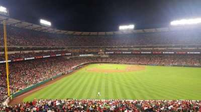 Angel Stadium, section: 245, row: SA, seat: 11