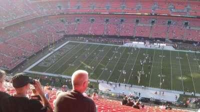 FirstEnergy Stadium, section: 509, row: 29, seat: 13