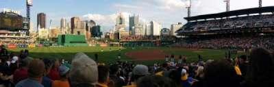 PNC Park, section: 125, row: H, seat: 7
