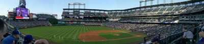 Coors Field, section: 241, row: 3, seat: 5