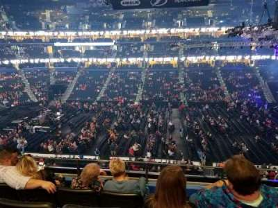 Amalie Arena section 201