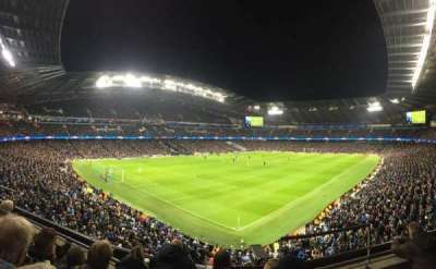 Etihad Stadium (Manchester), section: 212, row: D, seat: 290